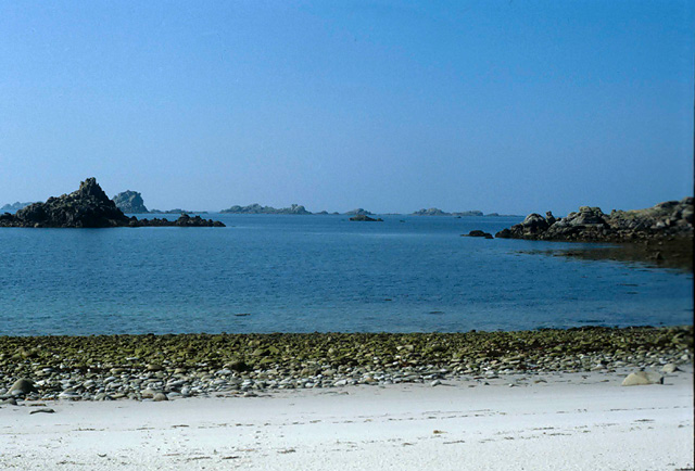 View west from Bryher