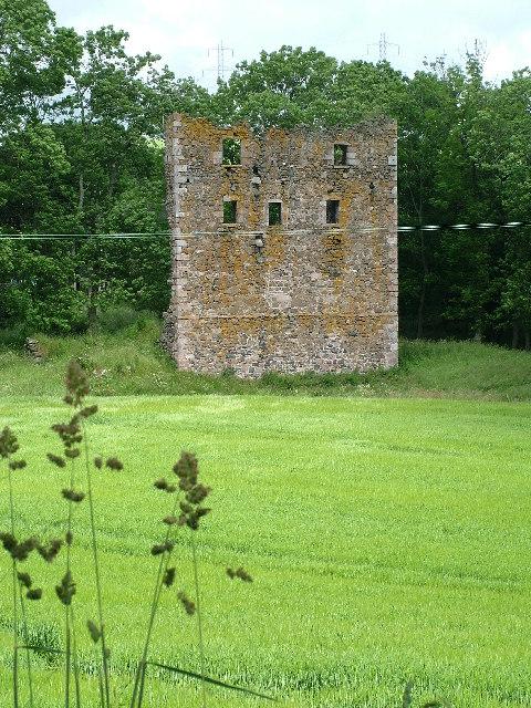 Balquhain Castle Wall