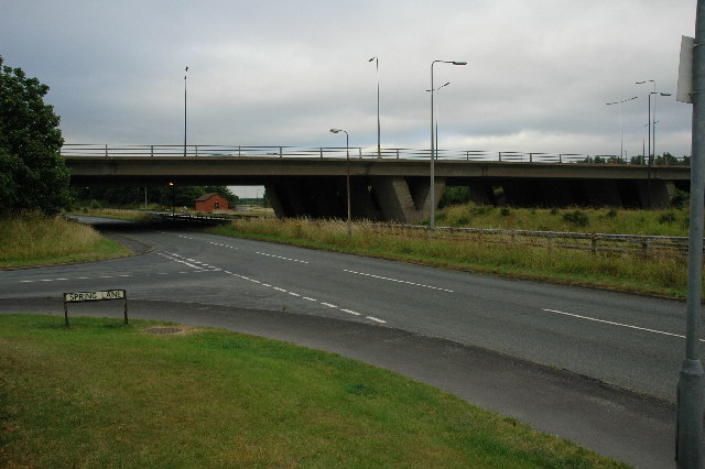 M62 Flyover, Warrington.