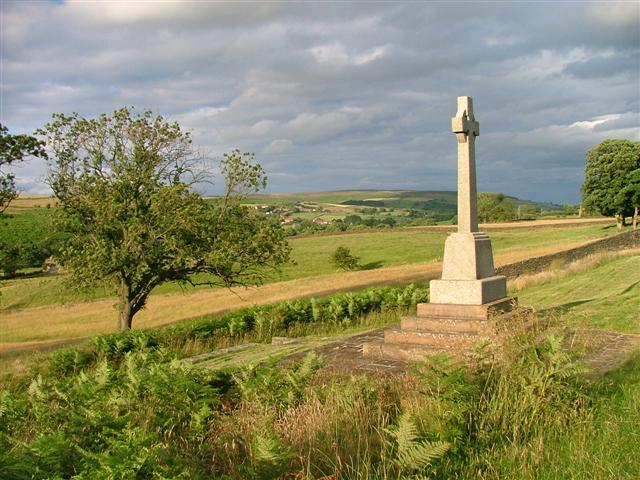War Memorial Overlooking the Esk Valley