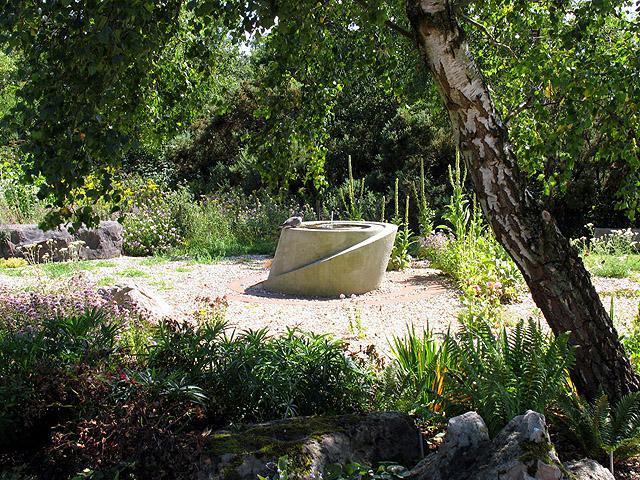 Helen Thomas Memorial Peace Garden