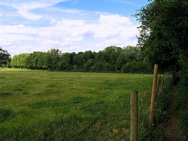 Footpath near Blissetts Farm and Headley
