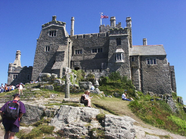 Another view on the Castle of St.Michaels Mount