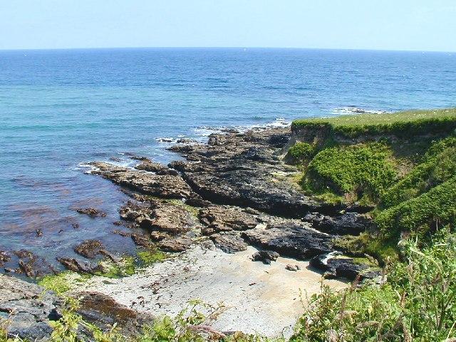 Rocks near Killigerran Head