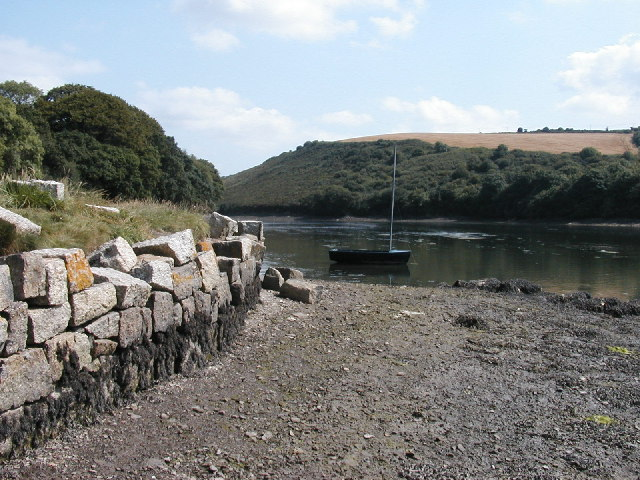 Scott's Quay, Polwheveral Creek, Cornwall
