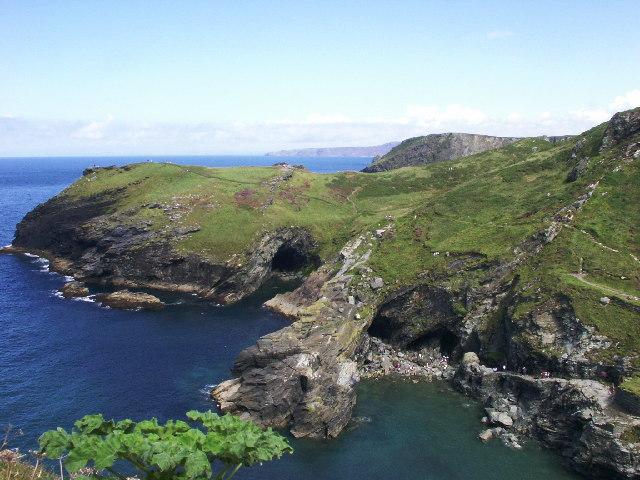 Merlin's Cave, Tintagel