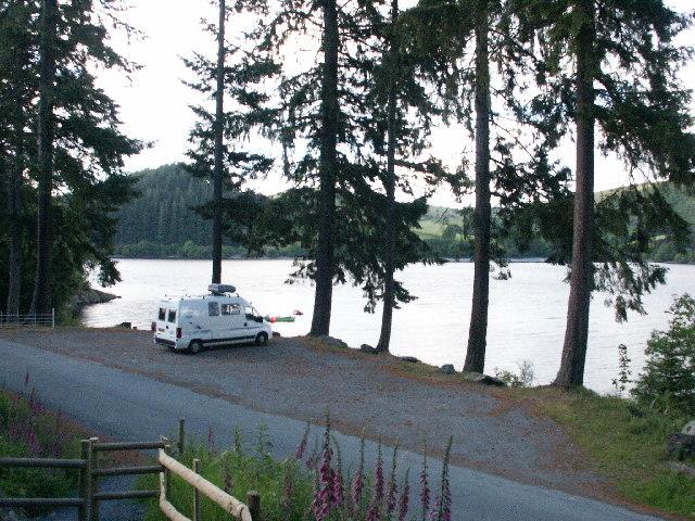 Car park, Lake Vyrnwy