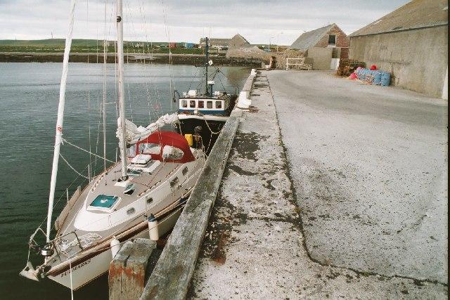Kettletoft Pier - Sanday, Orkney