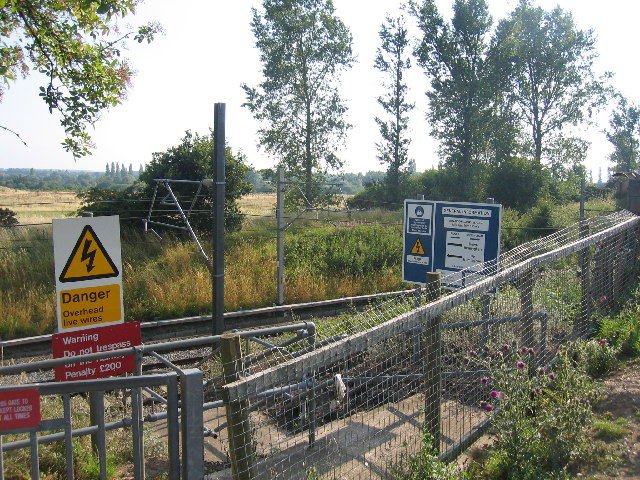 Railway Access Signage