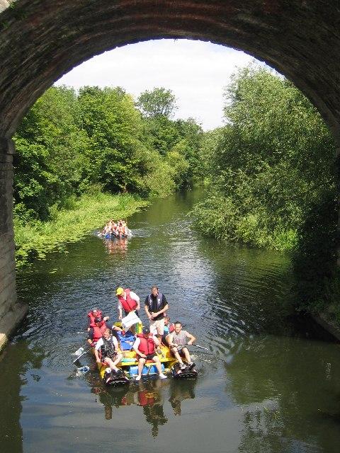 River Leam near Victoria Park