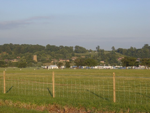 Pasture below Belvoir Castle
