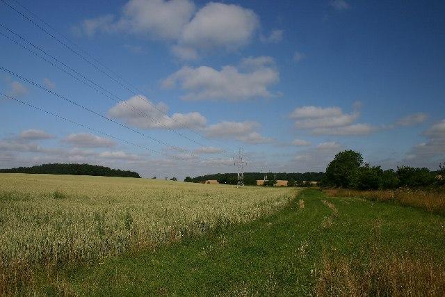 Farmland at Rushbrooke