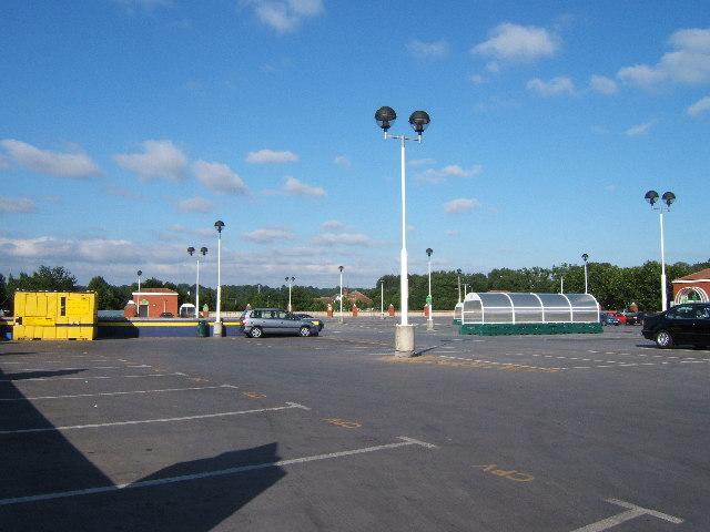 Upper level of Asda Superstore Car Park, Putney Vale