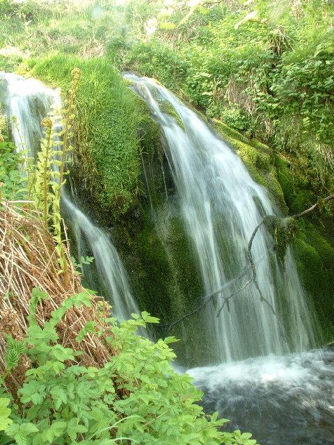 Waterfall in Dollar Glen