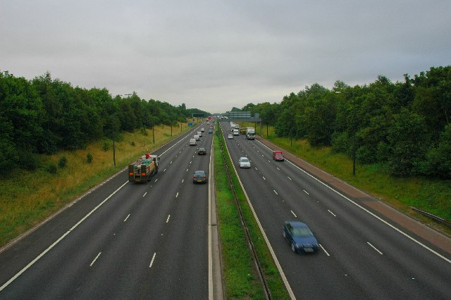 M62, Risley, Warrington