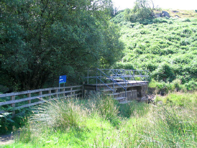 Footbridge over River Washburn