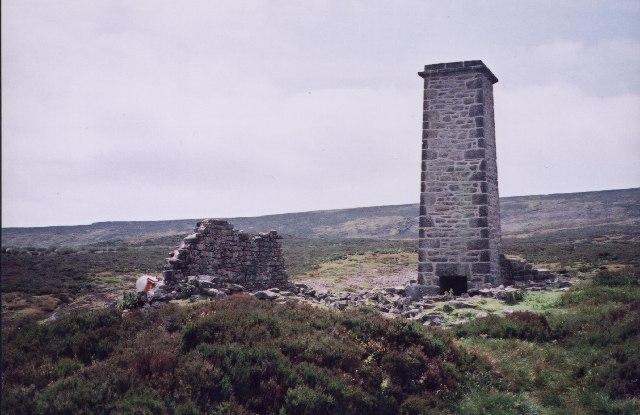 Chimney on Barden Moor