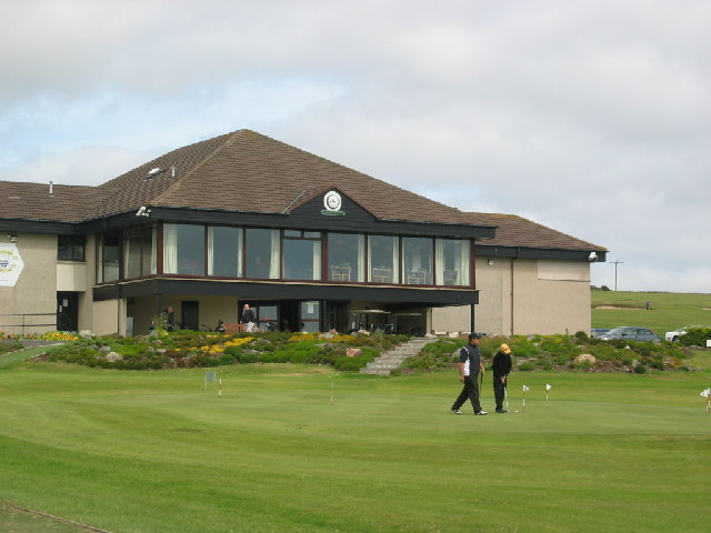 Club house, Portlethen golf club