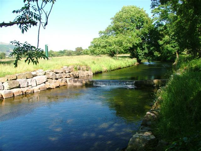 Weir on the River Gleneramackin