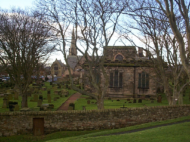 Two churches Berwick upon Tweed