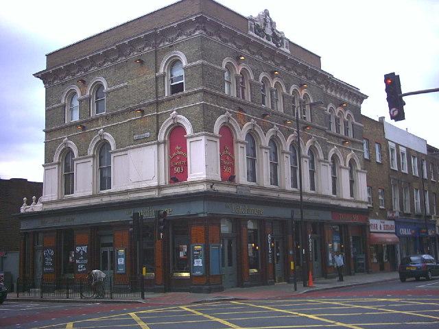 The Latchmere Theatre pub, Battersea.