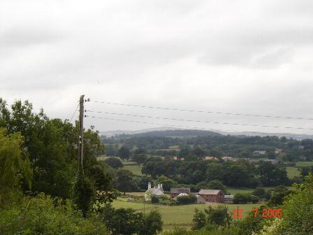 Farm house and outbuildings