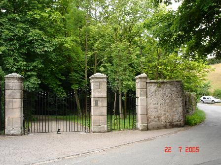 Lodge gates at Graig