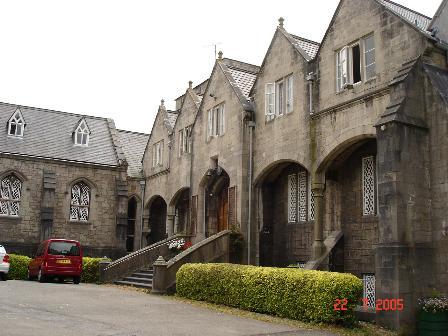 St Beuno's courtyard