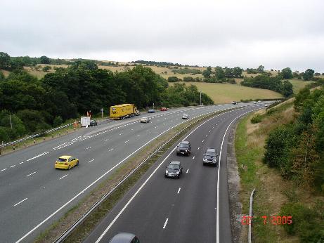 Rhuallt hill A55