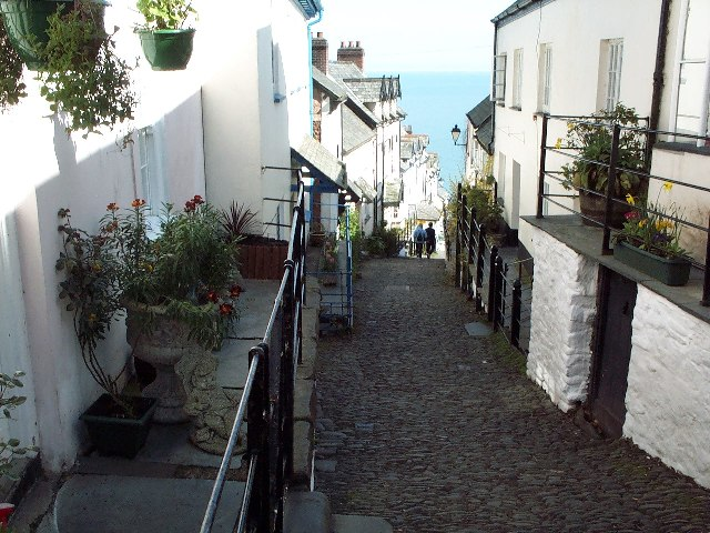 Main Street, Clovelly, Devon
