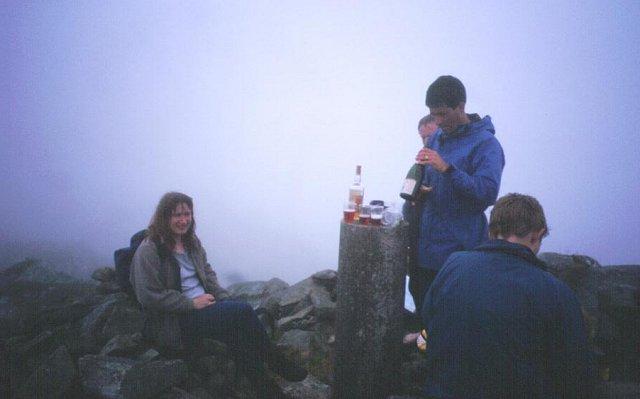 Summit of Cruach Scarba