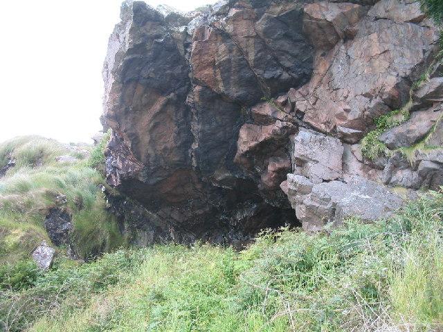 Cave at Bagh na h-Uamha