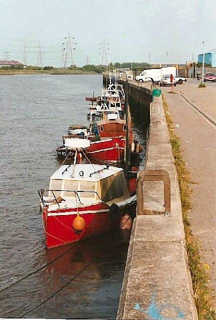 Connah's Quay wharf