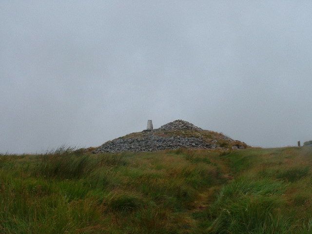 Summit cairn on Brown Willy