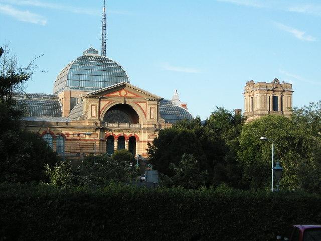 South West End of Alexandra Palace.