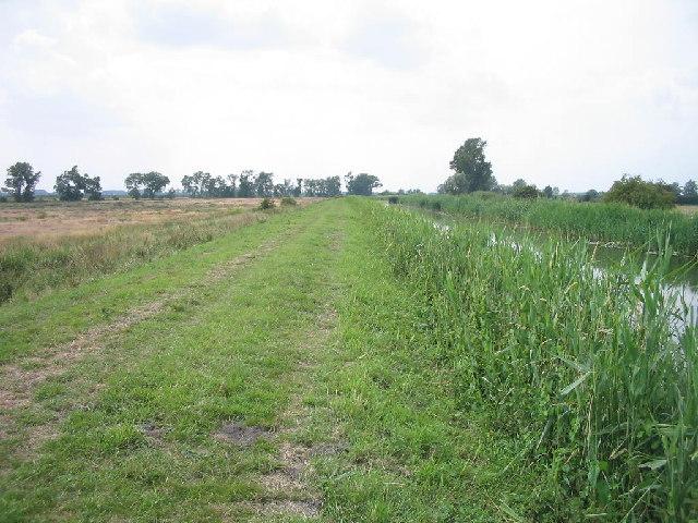 Burwell Lode across Burwell Farm Fen