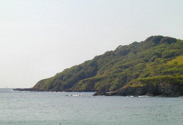 Coast near Gribbin Head