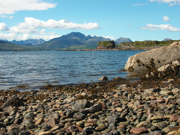 Tokavaig , Sleat Peninsula on Skye