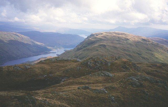 South slopes of Beinn a' Choin