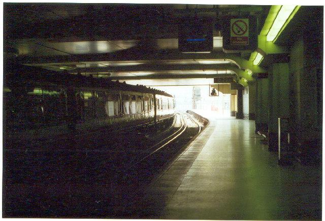 Charing Cross Station.