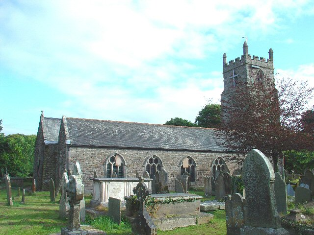 St Budock Parish Church, Budock Water, Near Falmouth, Cornwall
