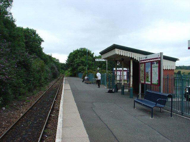 Penryn Railway Station, Penryn, Near Falmouth, Cornwall
