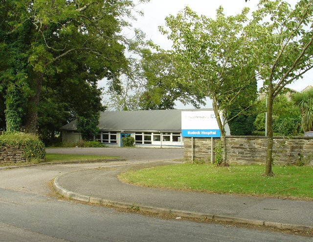 Budock Hospital, Falmouth, Cornwall.