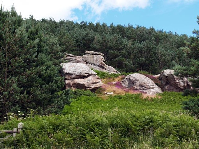 Dovehole Boulders