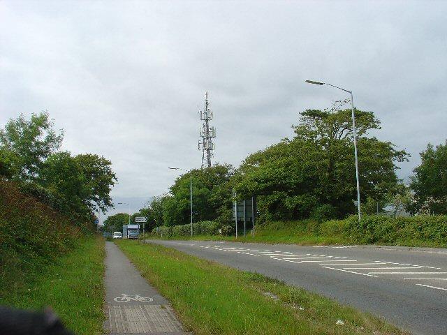 Telecommunications Mast, Falmouth, Cornwall