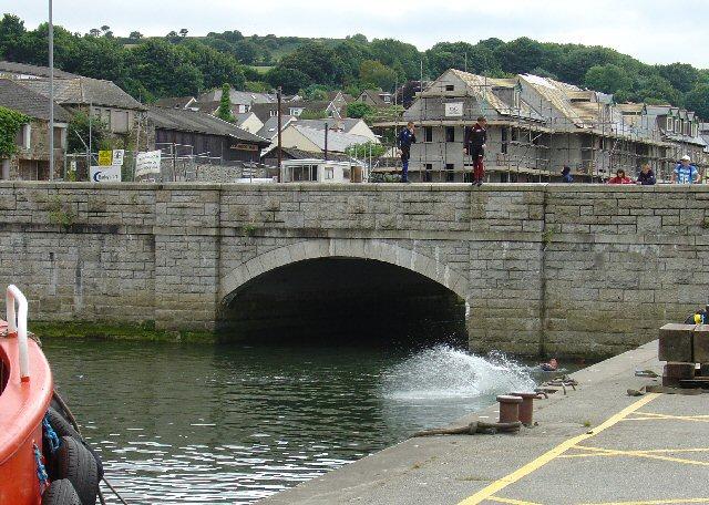 Penryn Bridge, Penryn, Falmouth, Cornwall