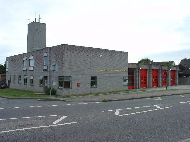 Falmouth Fire Station, Falmouth Cornwall.