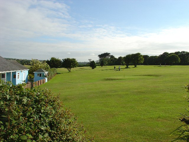 Falmouth Pitch and Putt, Crazy Golf and Tea Room, Falmouth, Cornwall