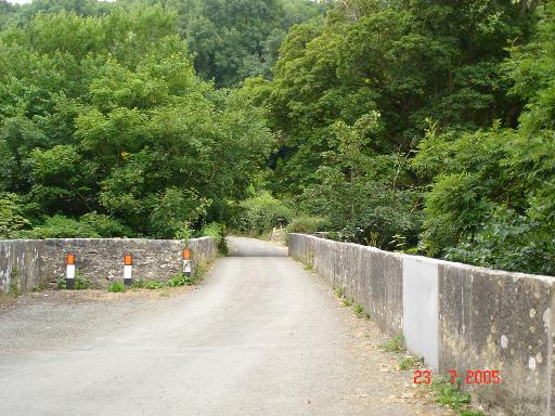 Bridge over the Elwy at Bont Newydd