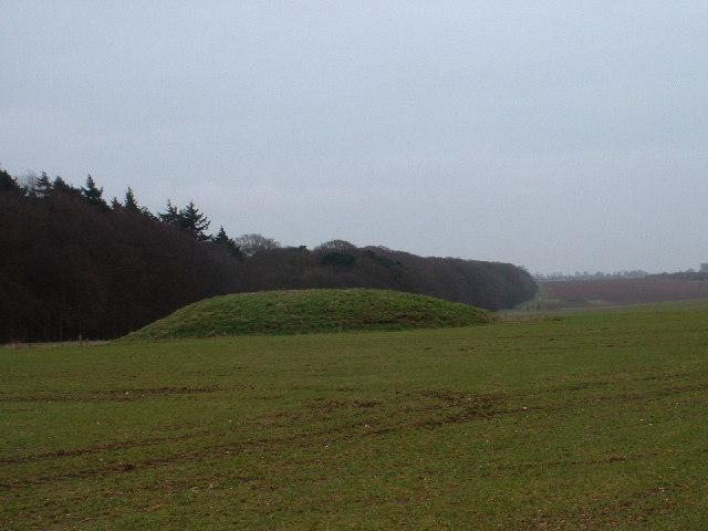 Tumulus on Harpley Common
